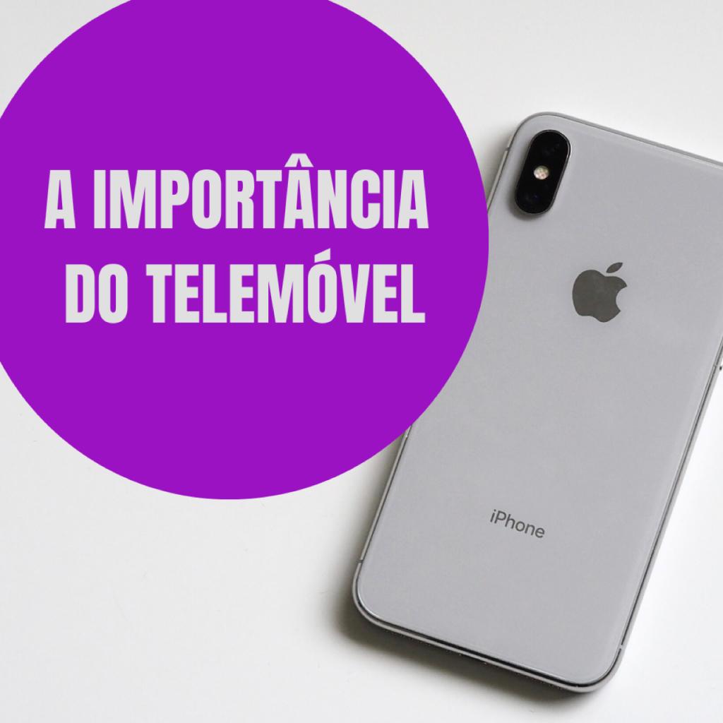 A importância do telemóvel. O iPhone da Apple.